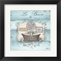 Framed Rustic French Bath II