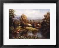 Framed Villa at the River Bank