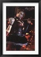 Framed Arkham Knight - Harley
