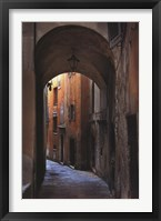 Framed Siena Alley I