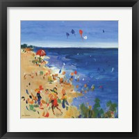 Framed Beach Party I