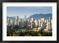 Framed Skyline of Vancouver, British Columbia, Canada