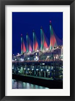 Framed Dawn, Canada Place, Vancouver, British Columbia, Canada