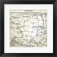 All About Paris IV Framed Print