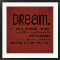 Framed Definitions-Dream II