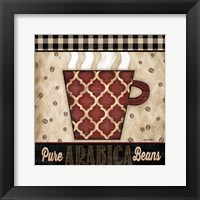 Premium Coffee III Framed Print