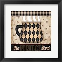 Premium Coffee IV Framed Print