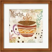 Framed Colorful Coffee I