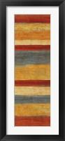 Abstract Stripe Panels I Framed Print