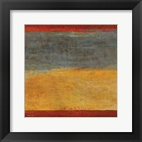 Abstract Stripe Square I Framed Print