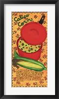 Framed Calico Corn