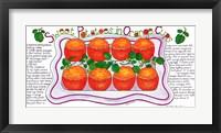 Framed Sweet Potatoes in Orange Cups