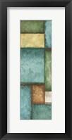 Rectagles Left Framed Print