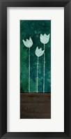Tall Tulips at Night Framed Print