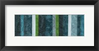 Morroccan Stripes Combined 1 Framed Print