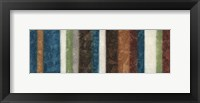 Morroccan Stripes Combined Framed Print