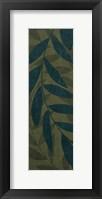 Medium Green Leaves Framed Print