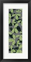 Green Gray Leaves II Framed Print