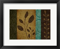 Pressed Leaves 1 Framed Print
