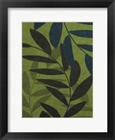 Green Leaves 3 Framed Print