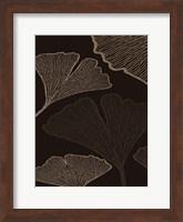 Framed BROWN LEAVES 1