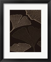 Framed BROWN LEAVES 1