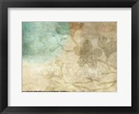 Paradise  Moon 4 Framed Print