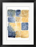 Framed Water Color Blocks