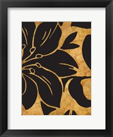 Framed Black And Gold