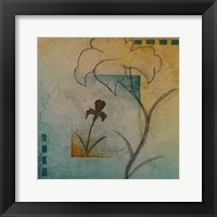 Flower Abstract II Framed Print