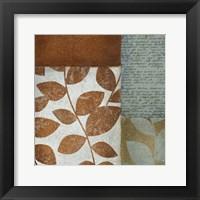 Leaf Letter Framed Print