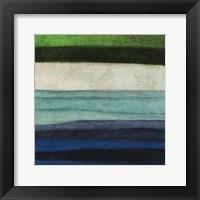 Stripes Left Framed Print