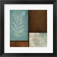 Patterns And Ferns 1 Framed Print