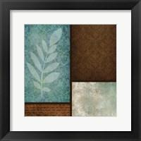 Patterns Fern Framed Print