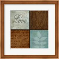 Framed Patterns And Ferns 4 Pack 1