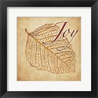 Red Gold Joy 2 Framed Print