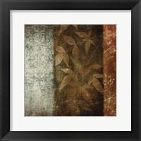 Spice Leaves 1 Framed Print