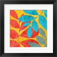 Tango Leaves 2 Framed Print