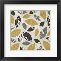 Framed Gold Gray Fall F