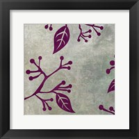 Framed Birds & Leaves 3
