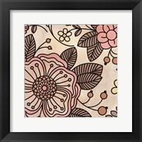 Framed Soft Flora 3