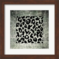 Framed Animal Instinct Leopard