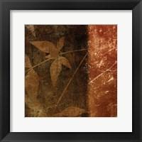 Spice Leaves 1B Framed Print