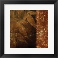 Spice Leaves 1D Framed Print