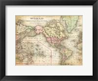 Framed World Map 4
