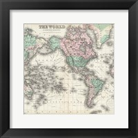 Framed World Map 2