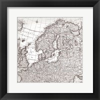 Framed World Map 3