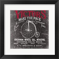 Framed Antique Bicycle I