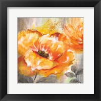 Orange Crush I Framed Print