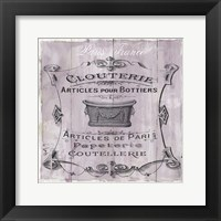 Framed French Bath